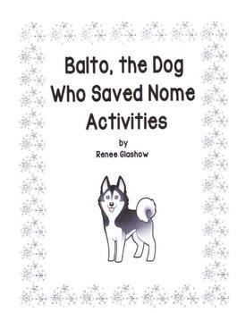 Balto, the Dog Who Saved Nome Activities