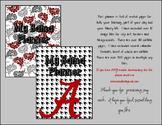 Bama Houndstooth Teacher Notebook Organizer Plus * Alabama * Roll Tide