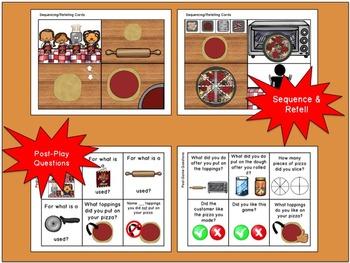 Bamba Pizza: Language and Listening App Companion
