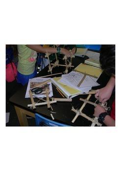 Bamboo Engineering Activity, Knots, Materials Evaluation, Collaborative