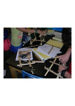 Bamboo Engineering Activity, Knots, Materials Evaluation, Collaborative