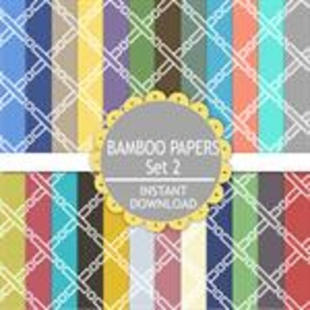 Bamboo Set 2 Paper Pack