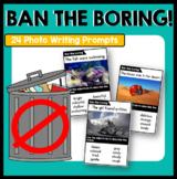 Ban the Boring Writing Prompts   Seven Steps to Writing Success