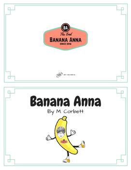Banana Anna Rhyming Book