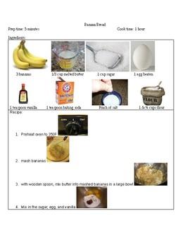Banana Bread visual recipe