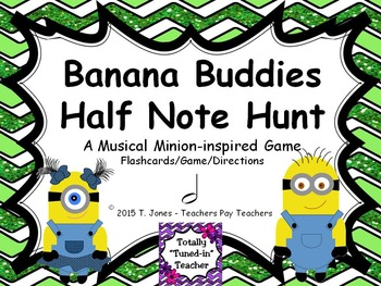 Banana Buddies {Half Note}  {Music: Rhythm Concept Game}