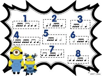 Banana Buddies {Sixteenth Notes}  {Music: Rhythm Concept Game}