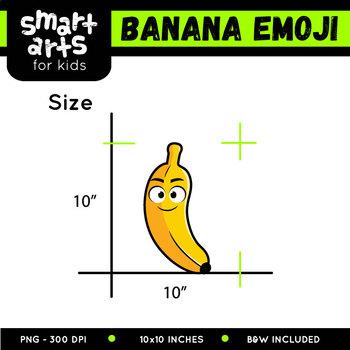 Banana Emoji Clip Art