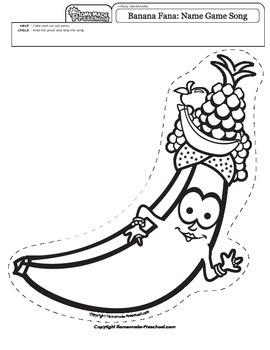 Banana Fana Name Game Song