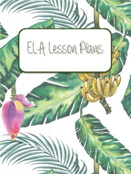 Banana Leaf Binder Covers