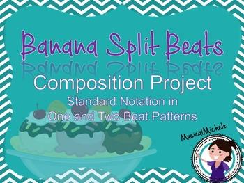 Banana Split Beats: Rhythmic Composition with Standard Notation