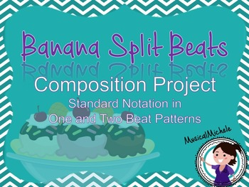 Banana Split Beats: Rhythmic Composition with Standard Notation