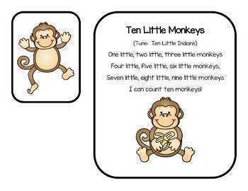 Monkey Math, Banana 10 Frames & More