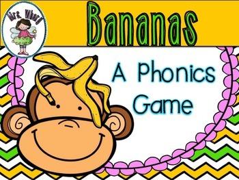 Bananas - A Phonics Game (USA Version)