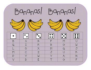 Roll & Read:  Bananas! Bananas!