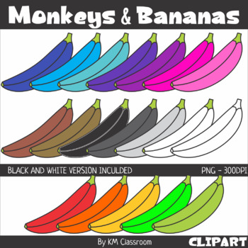 Bananas Clip Art