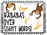 Bananas Over Sight Words!  - Jungle Themed Sight Word Display