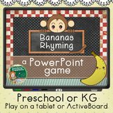 Bananas Rhyming Game | PowerPoint | ActiveBoards | Tablets
