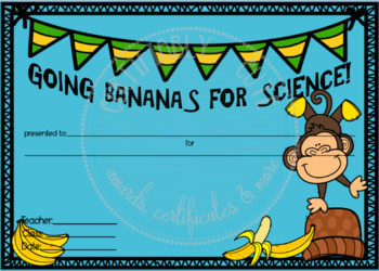 Bananas for Science
