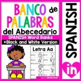 Banco de Palabras; el abecedario (Black and White version)
