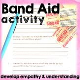 Band Aid Activity for Explaining Differentiation and Promoting Kindness