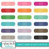 Band-Aid Clip Art Pack
