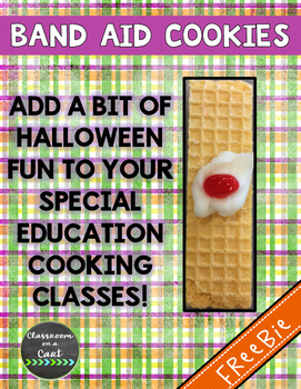 Band Aid Cookies - Halloween Cooking!