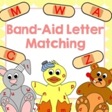 Band-Aid Letter Matching