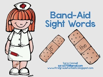 Band-Aid Sight Words