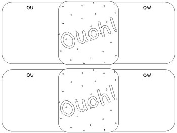 Band-Aid Words - ou and ow (like ouch)