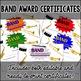 Music Awards - Band Certificates