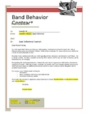 Band Behavior Contract