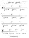 Band Blank Fingering Chart #3