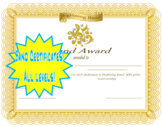 Band Certificates Classroom Awards