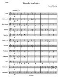 Band Chart: Wonder and Awe