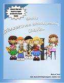 Band Classroom Management Bundle