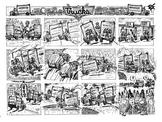 Band Daddies Trucks (black and white)