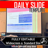 Band Daily Slide Template