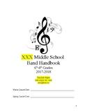 Band Handbook 17-18