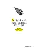Band Handbook 17-18 extended