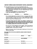 Band Instrument Rental Agreement