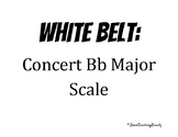 Band Karate Belt Signs