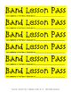 Band Lesson Passes
