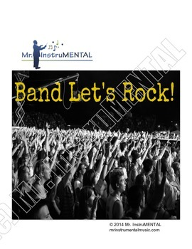 Band Let's Rock! - A Rock Piece for Beginning Band