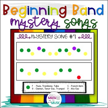 Beginning Band - Mystery Songs
