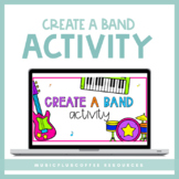 Create A Band Activity for Google Slides™ | Distance Learning