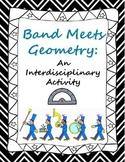 Band Meets Geometry Transformation - Interdisciplinary Activity