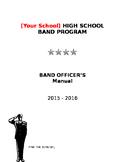 Band Officer Manual