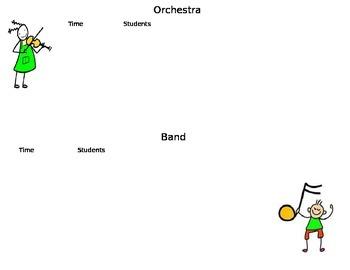 Band & Orchestra Chart
