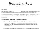 Band Parent Letter